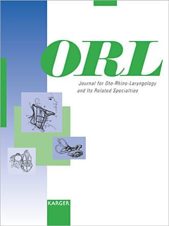 Journal for Oto-Rhino-Laryngology, Head and Neck Surgery